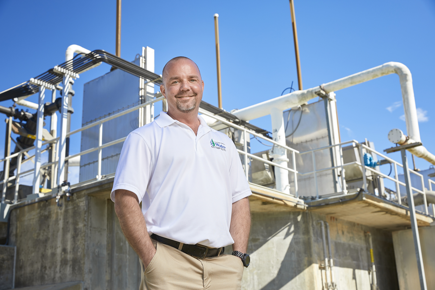 Mike Holt, plant supervisor, Casey Water Resource Recovery Facility