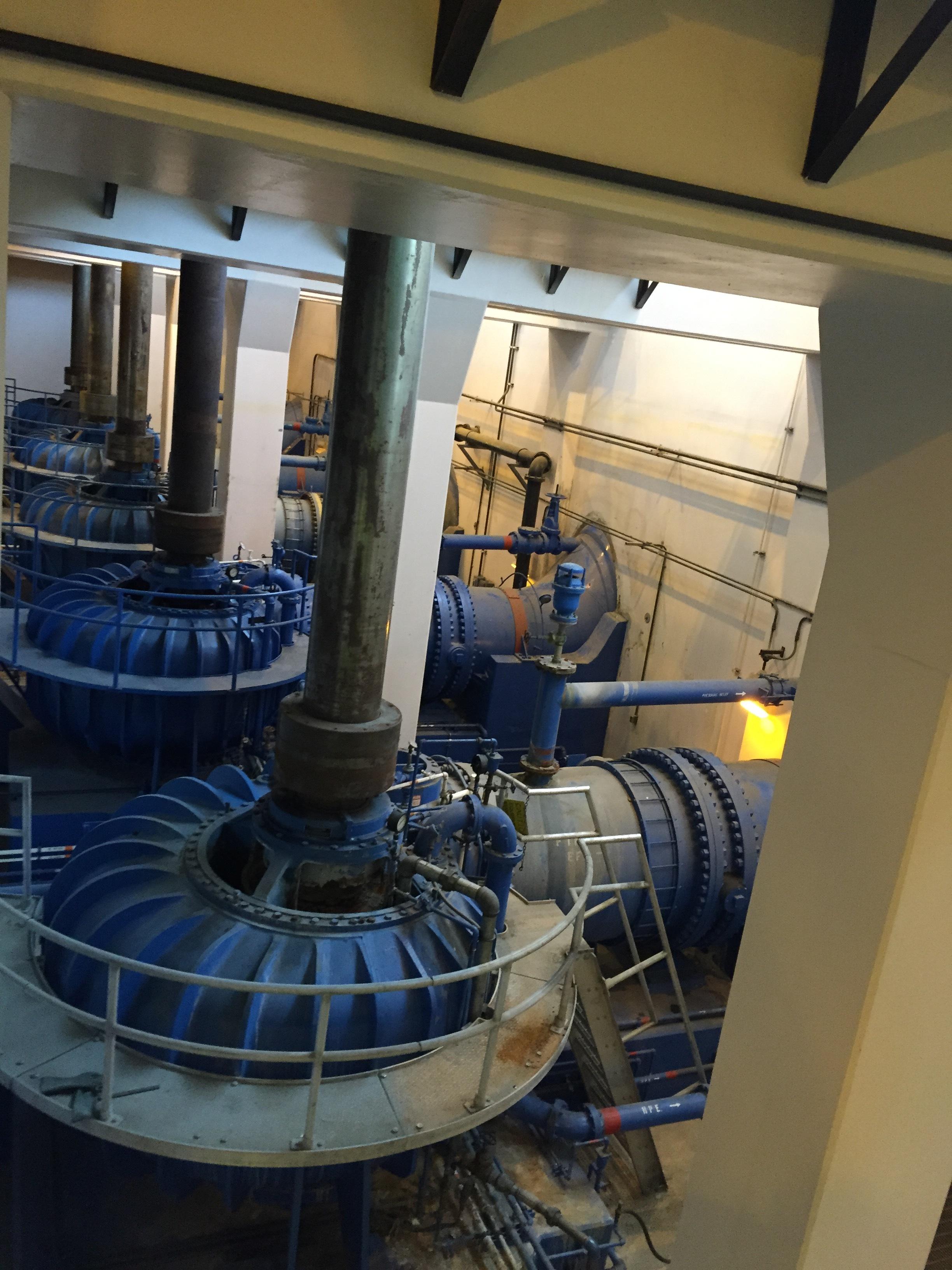Pumps for high tide