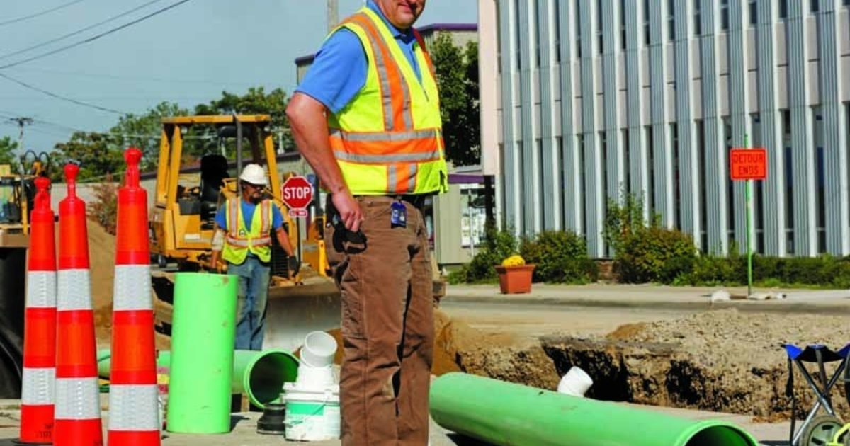 In House Crew Tackles Sewer Improvement Municipal Sewer