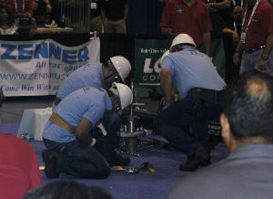 The tapping team from SADM San Miguel, Mexico, attempts to defend its 2014 Tapping title at ACE15. The team finished 3rd this year.