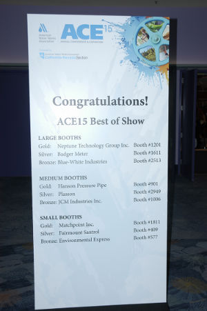 The ACE15 Best of Show awardees
